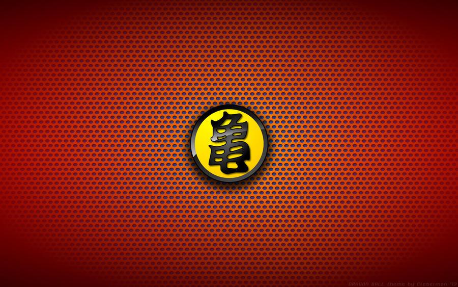 Wallaper Dragon Ball Turtle Logo Yellow By Kalangozilla On