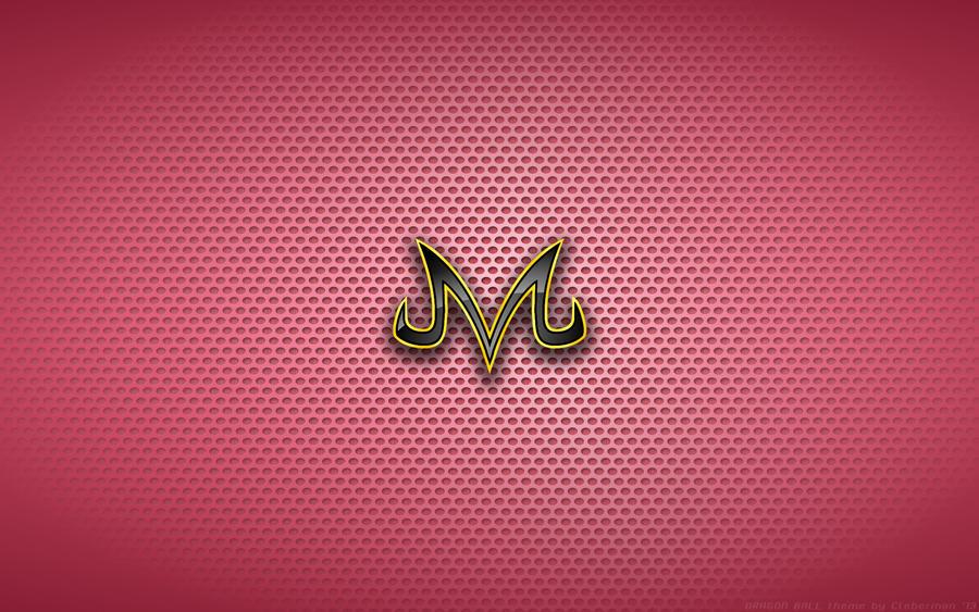 Wallpaper Dragon Ball M Of Majinboo Logo By
