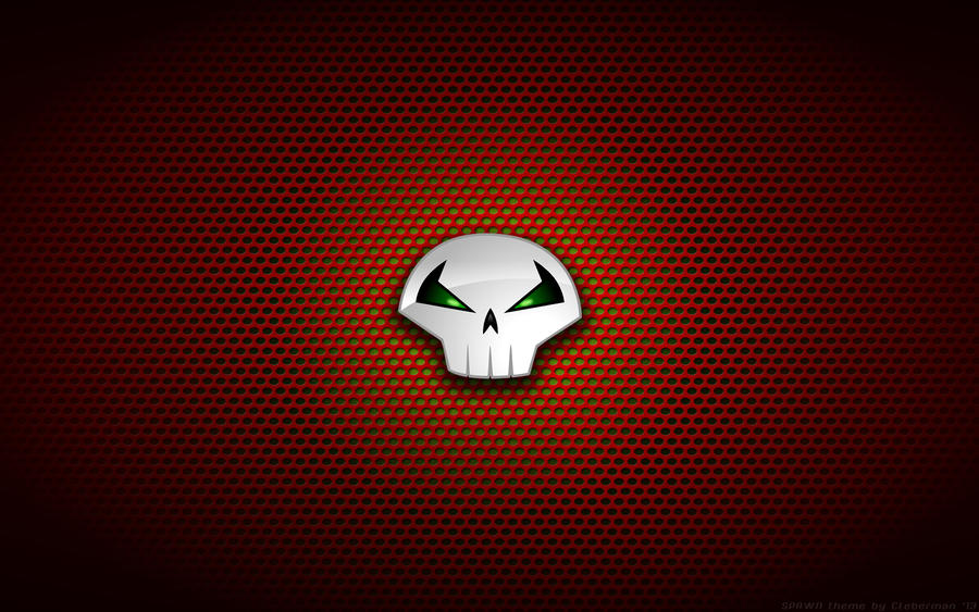 Wallpaper - Spawn 'Skull' Logo by Kalangozilla on DeviantArt