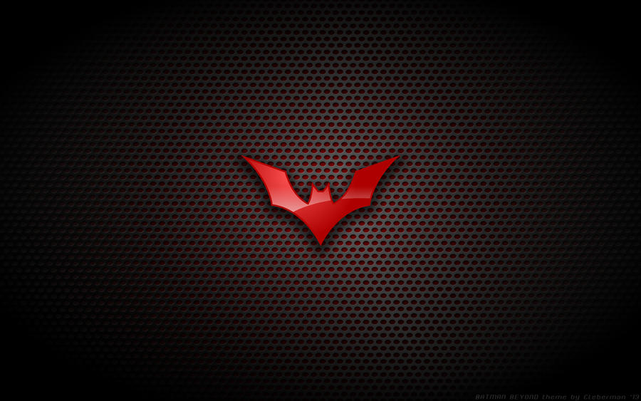 Wallpaper - Batman Beyond Logo by Kalangozilla