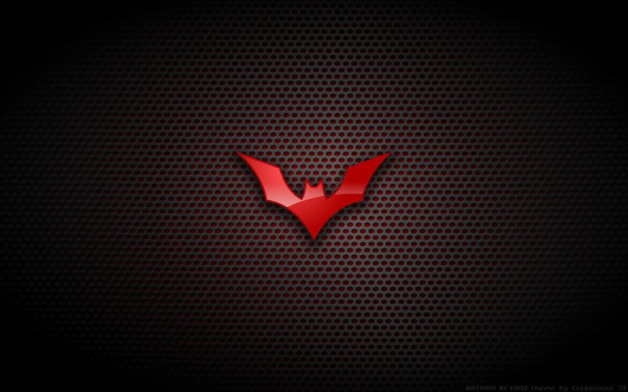 Wallpaper - Batman Beyond Logo by Kalangozilla