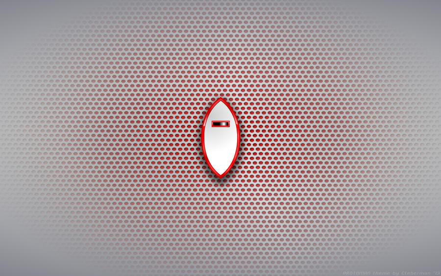 Wallpaper - Protoman 'Shield' Logo
