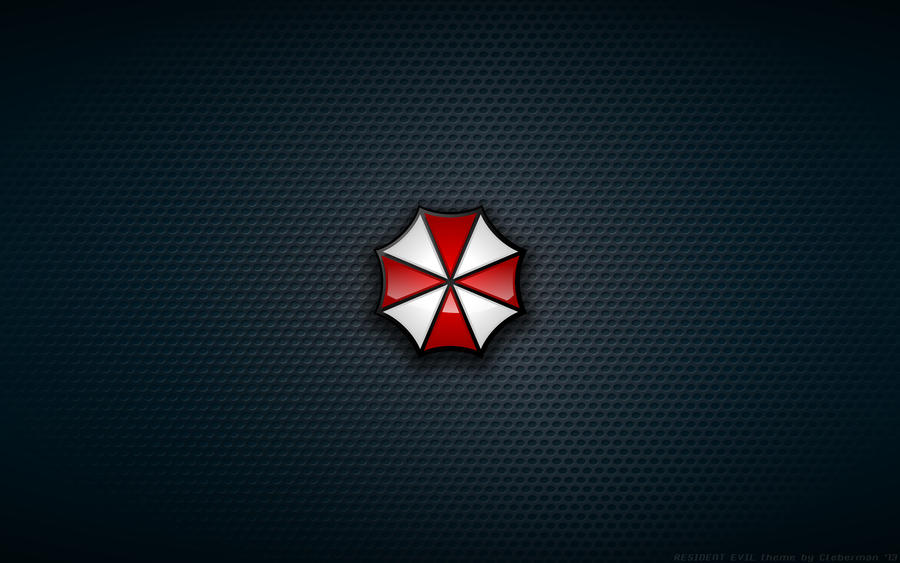 Wallpaper - Umbrella Corp Logo by Kalangozilla