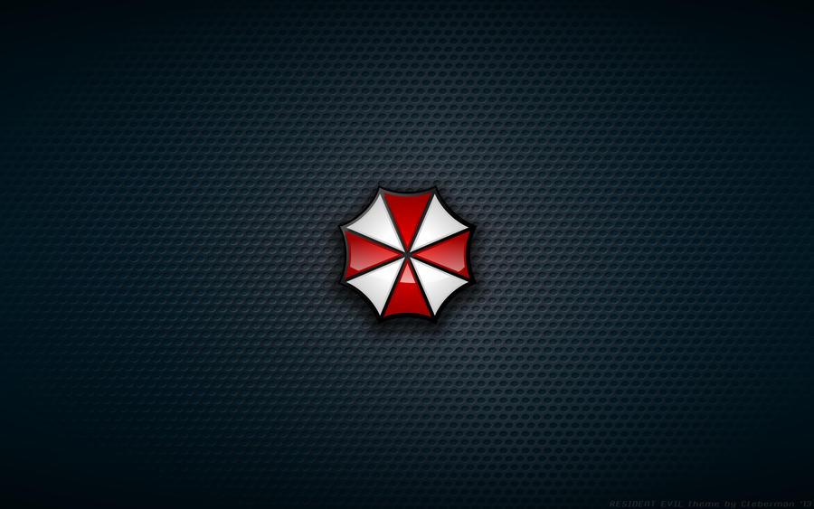 Wallpaper - Umbrella Corp Logo by Kalangozilla