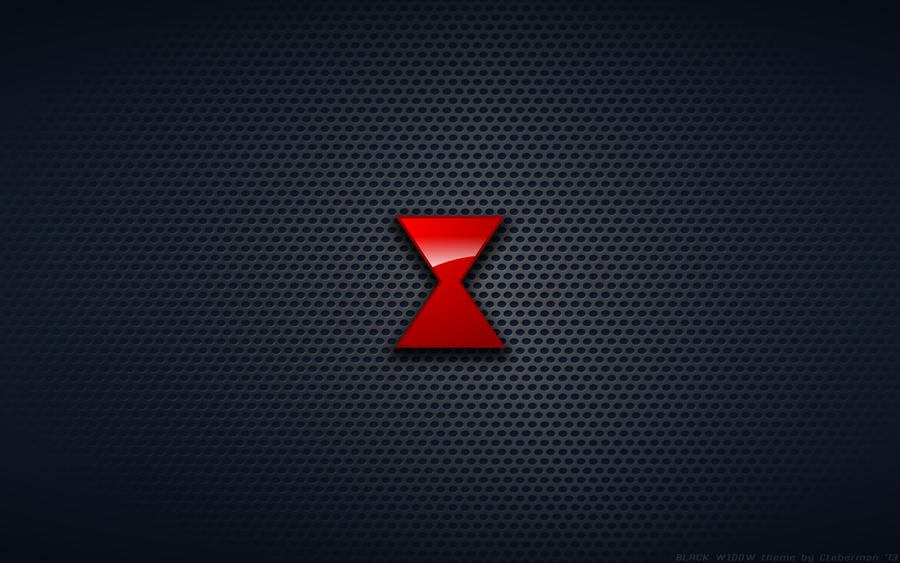 Black widow logo wallpaper - photo#1