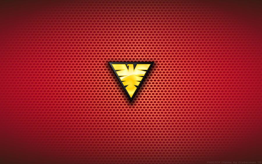 Dark Phoenix Logo Grey s Dark Phoenix Logo