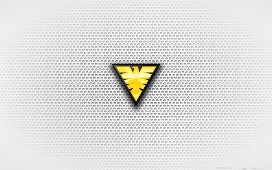 Dark Phoenix Logo Grey s White Phoenix Logo