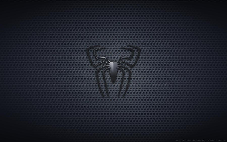 wallpaper spider man 3 black suit movie logo by kalangozilla on