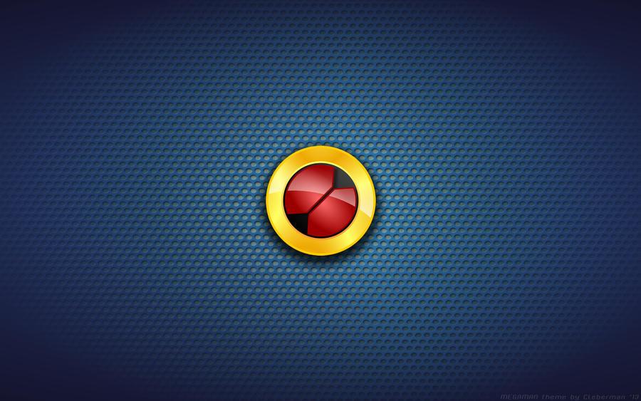 Wallpaper - Megaman.EXE Logo