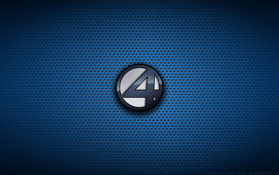 wallpaper fantastic four 2005 2007 movie logo by