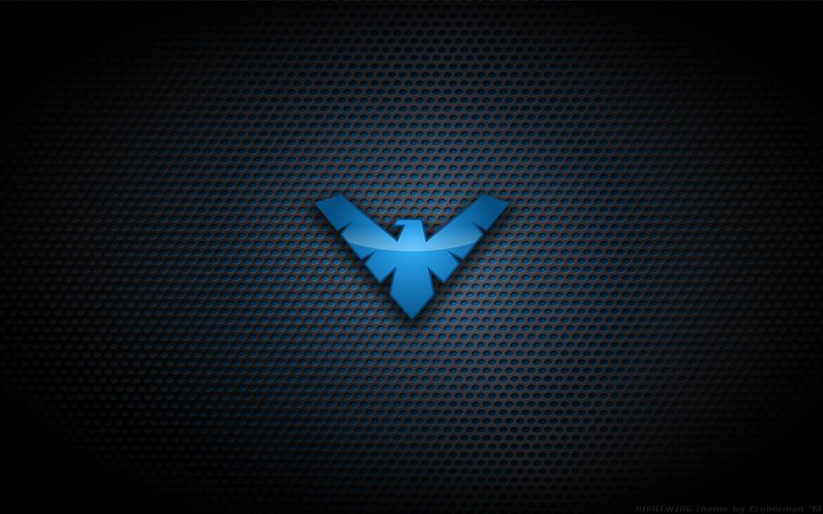 Night Wallpaper No Logo By Ualgreymon On Deviantart: Nightwing 'TNBA' Logo By Kalangozilla On