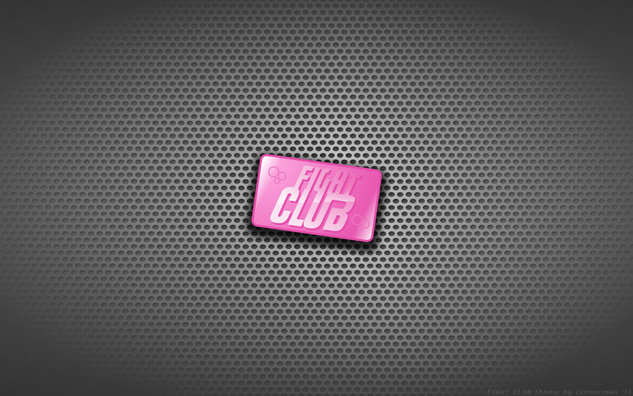 wallpaper fight club soap logo by kalangozilla on