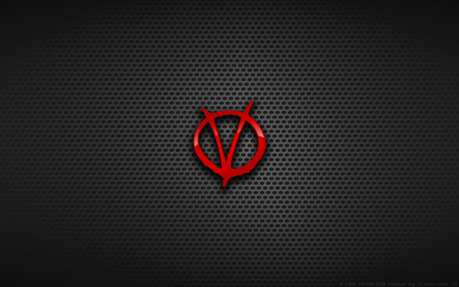 Wallpaper - 'V' For Vendetta Logo