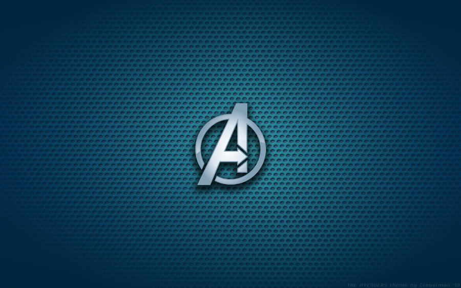 Wallpaper - The Avengers 'Poster Version' Logo by Kalangozilla