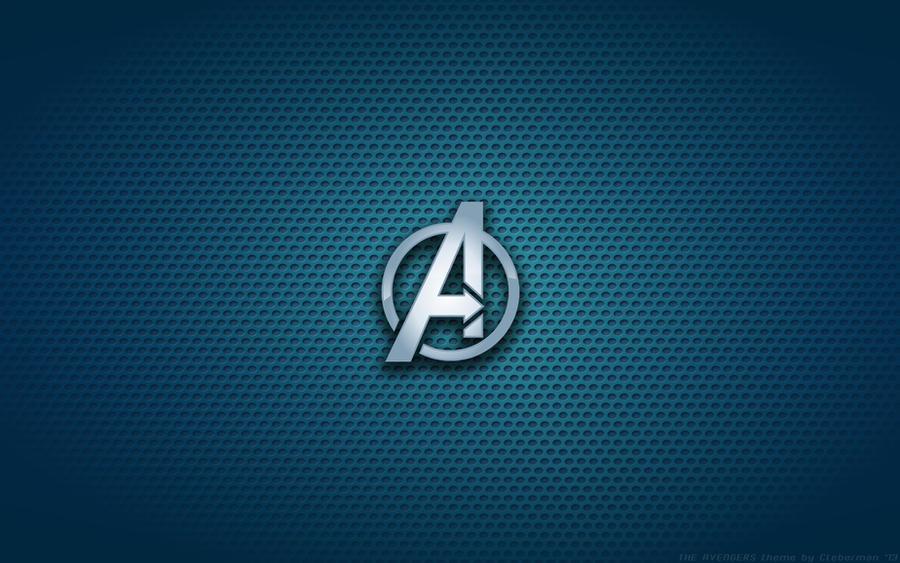Wallpaper - The Avengers 'Poster Version' Logo by Kalangozilla