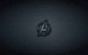 Wallpaper - The Avengers 'Black Version' Logo by Kalangozilla