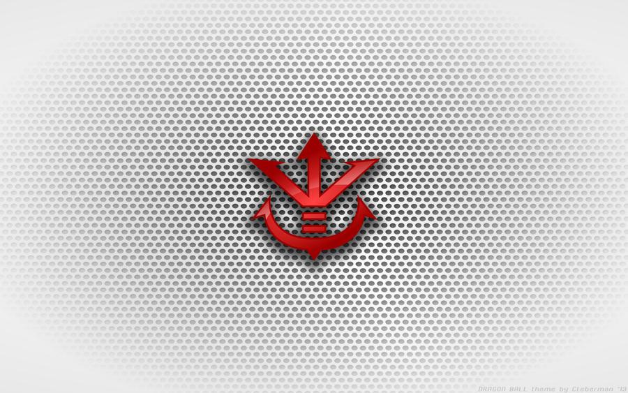 Wallpaper - King Vegeta 'Saiyan Crest' Logo