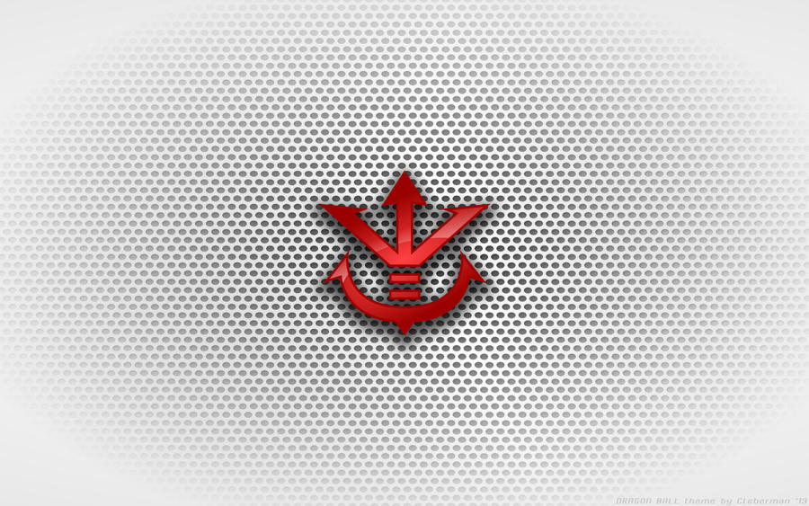Wallpaper - King Vegeta 'Saiyan Crest' Logo