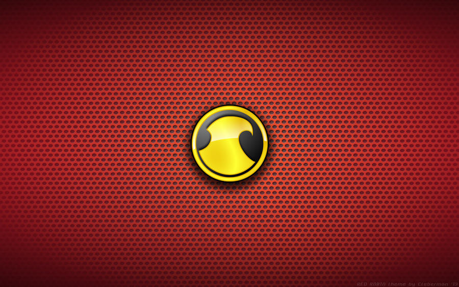 Wallpaper Red Robin Logo By Kalangozilla On Deviantart