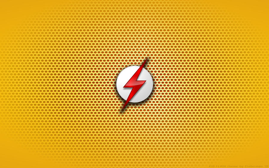 Wallpaper - Kid Flash  Young Justice  Logo by KalangozillaYoung Justice Wallpaper