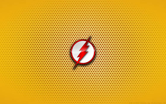 Wallpaper - Kid Flash 'Comix' Logo