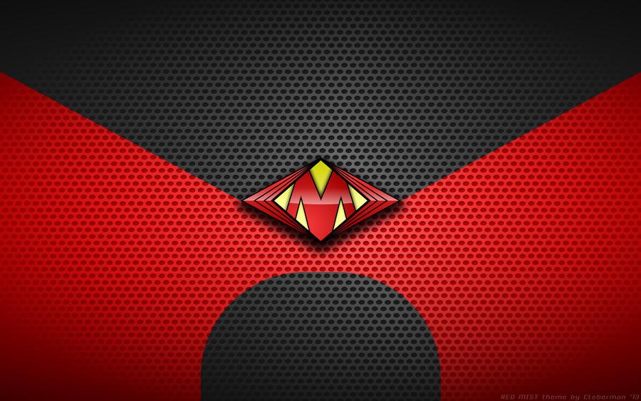 Wallpaper - Red Mist 'Kick-Ass Movie' Logo