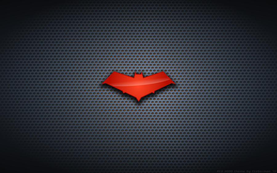 Wallpaper - Red Hood 'Bat' Logo by Kalangozilla