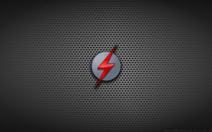 Wallpaper - Kid Flash 'Stealth Mode' Logo