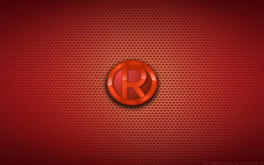 Wallpaper - Red Arrow Logo