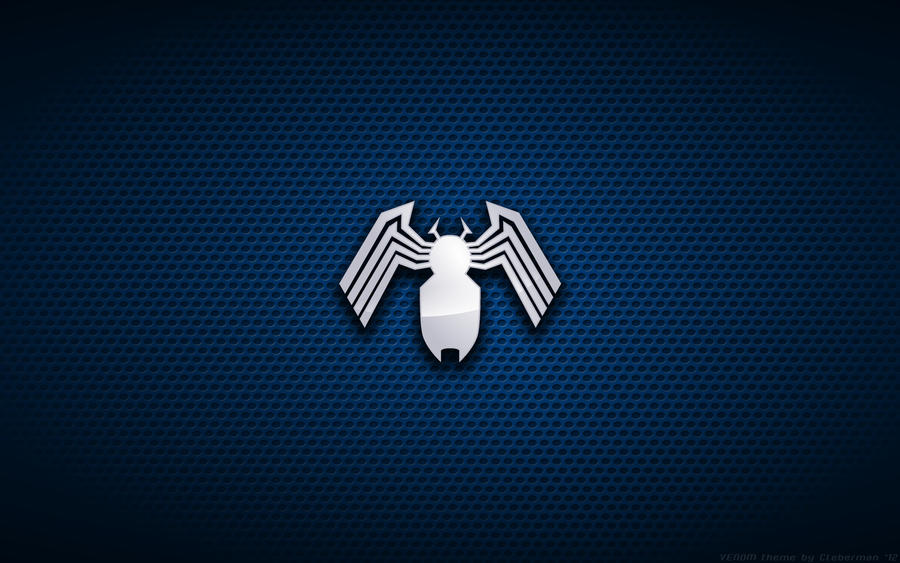 wallpaper venom mark bagley style logo by kalangozilla