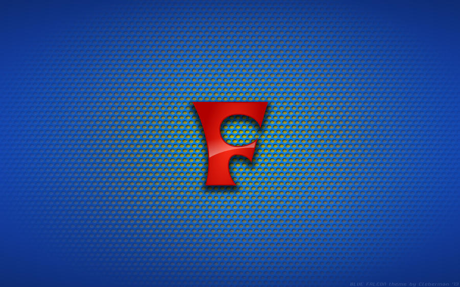 Wallpaper - Hanna-Barbera's Blue Falcon 'F' Logo by Kalangozilla