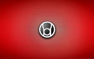 Wallpaper - Red Lantern Corps Logo by Kalangozilla