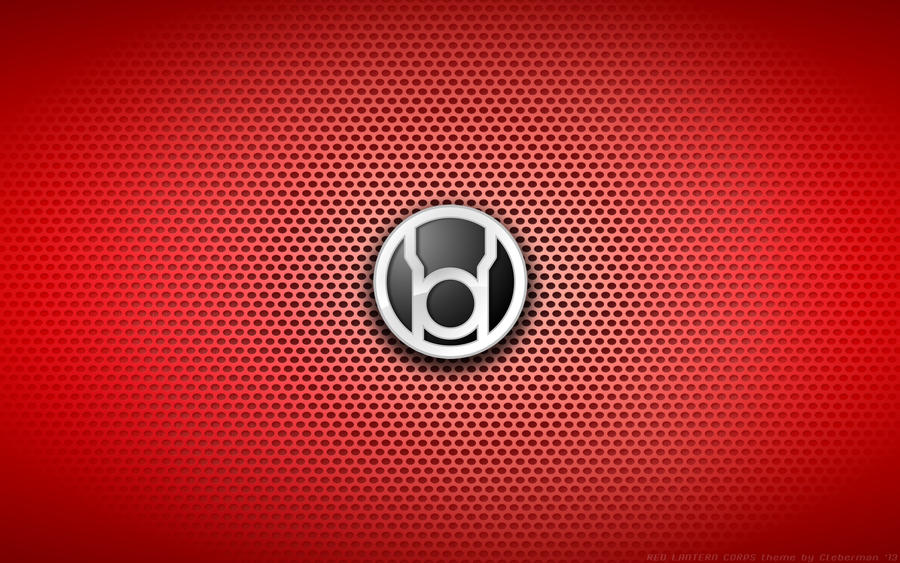 Wallpaper Red Lantern Corps