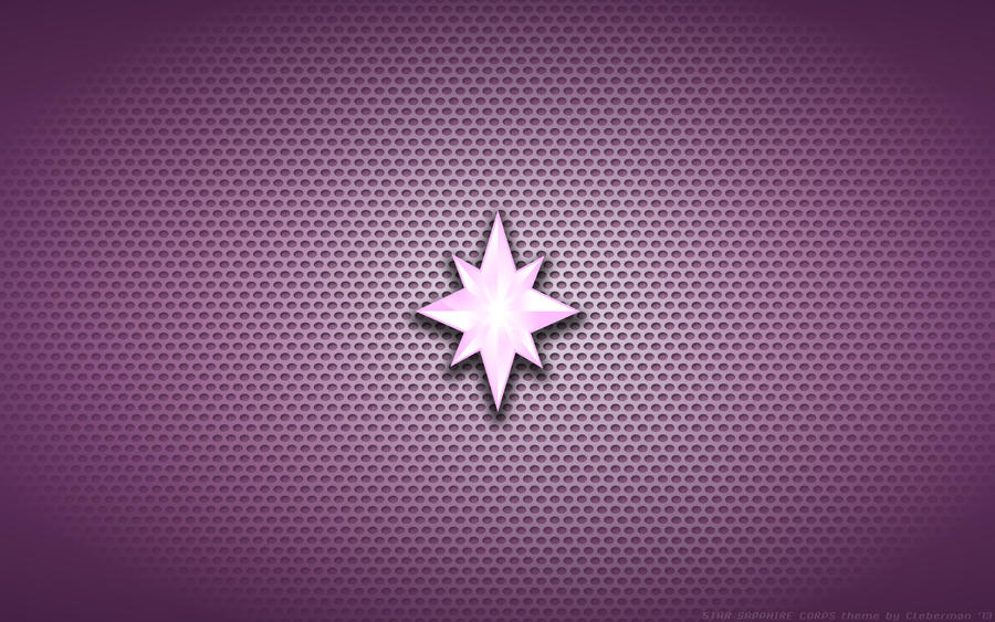 Wallpaper star sapphire corps logo by kalangozilla on deviantart - Sapphire wallpaper ...