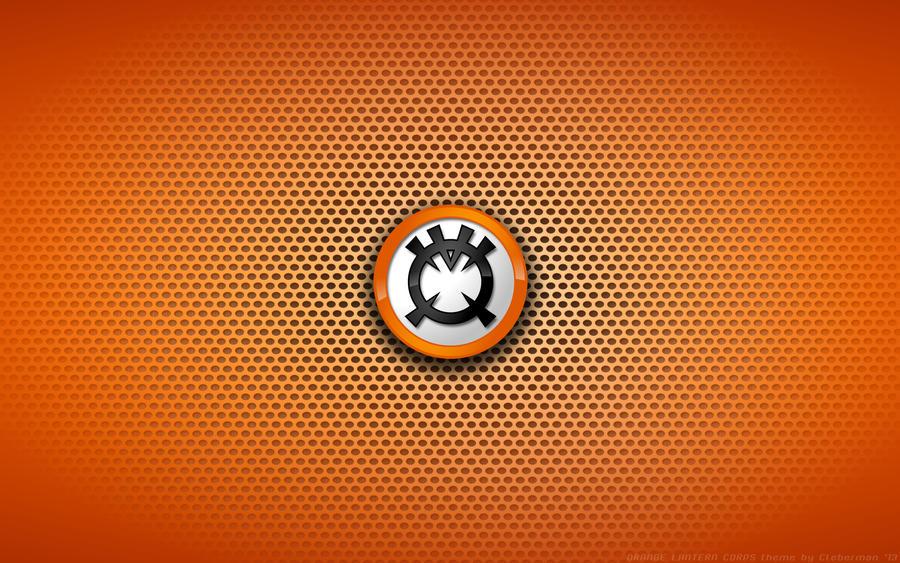 Orange lantern corps wallpaper - photo#4