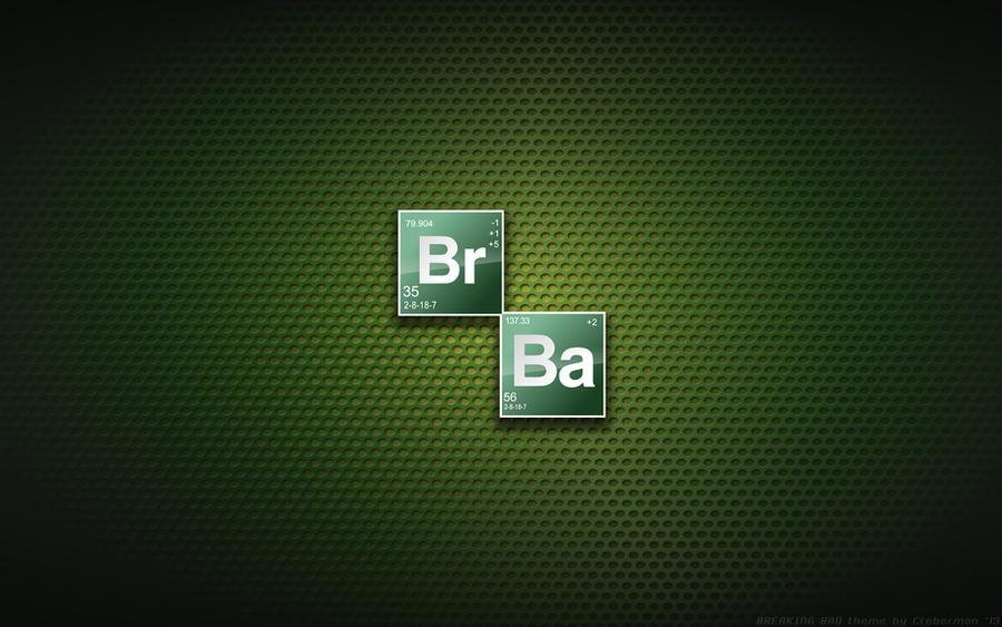Wallpaper Breaking Bad Elements Logo By Kalangozilla