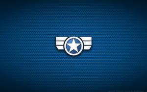 Wallpaper - Captain America 'Secret Avengers' Logo by Kalangozilla