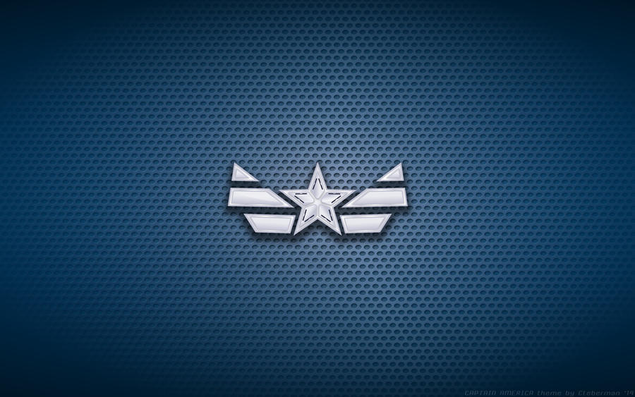 Wallpaper - Captain America 'New Costume' Logo