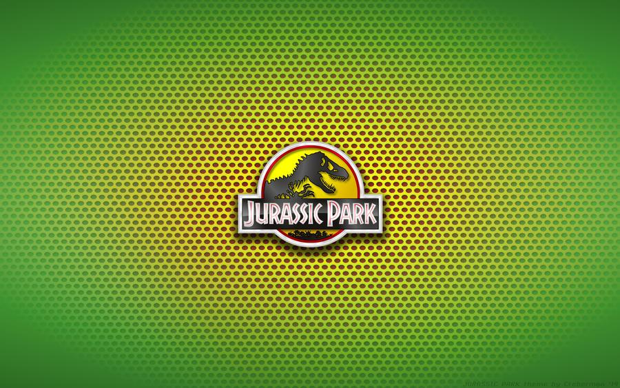 Wallpaper Jurassic Park Ford Explorer Logo By