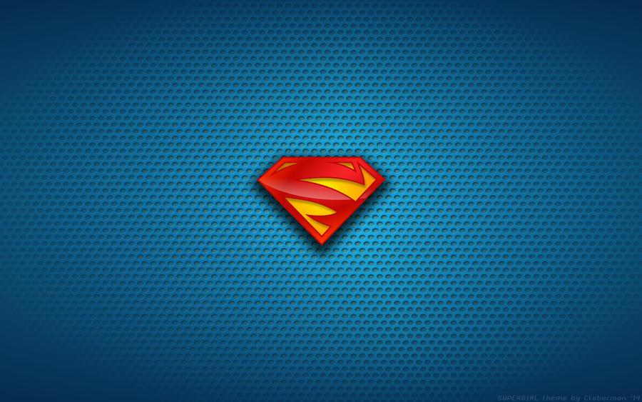 wallpaper supergirl new 52 logo by kalangozilla on