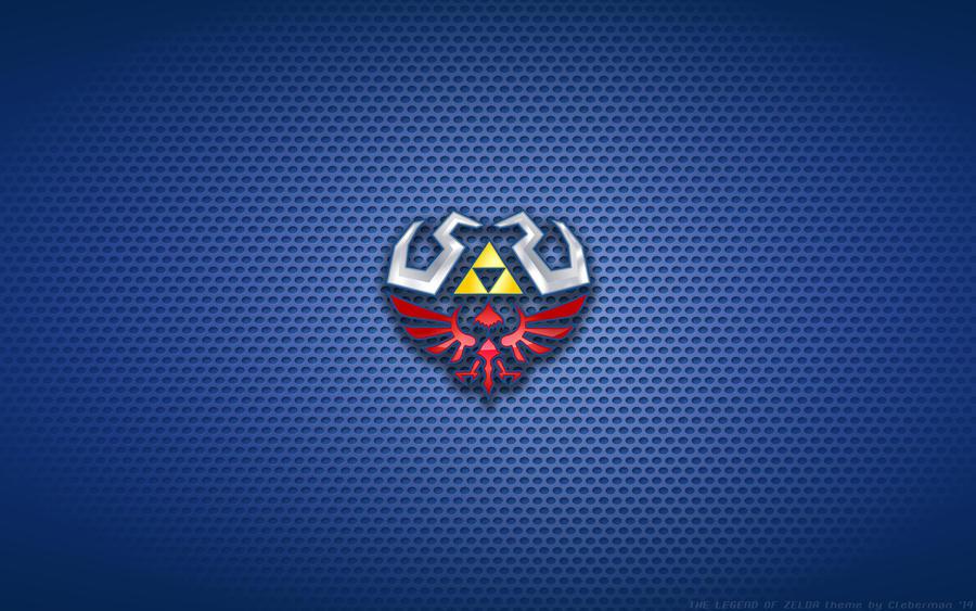 Zelda Hylian Shield Logo