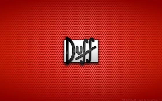 Wallpaper - Duff Beer Logo