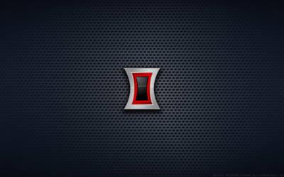 Wallpaper - Black Widow 'Avengers Style' Logo