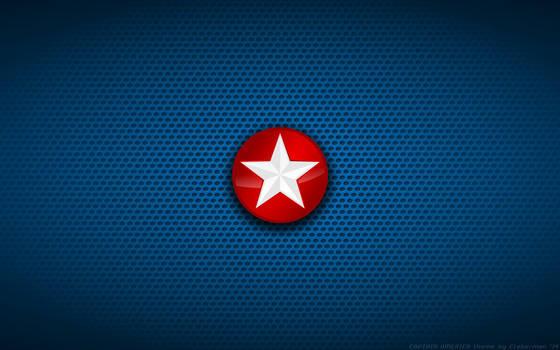 Wallpaper - Captain America 'Side Star' Logo