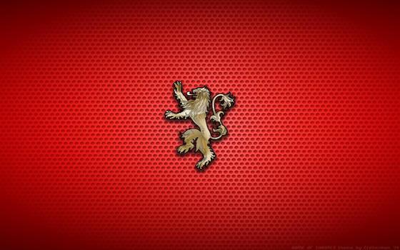 Wallpaper - House Lannister Logo