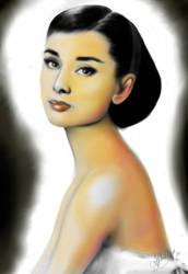Audrey Hepburn by Tormentil