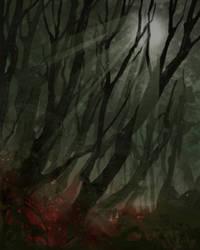 Spooky Forest by KewinArt