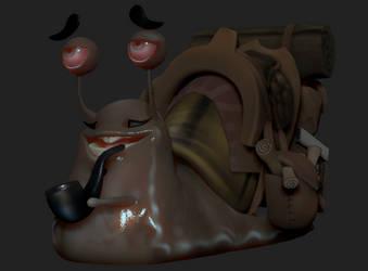 Snail Dude 2 by KewinArt