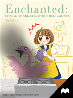 Enchanted - Charlotte and Clementine Bake Cookies by starlightgenie