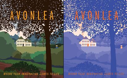 Avonlea Vintage Style Travel Poster by starlightgenie